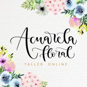 Taller online para pintar flores de acuarela. Pensado para principiantes, ¡sin plazos!