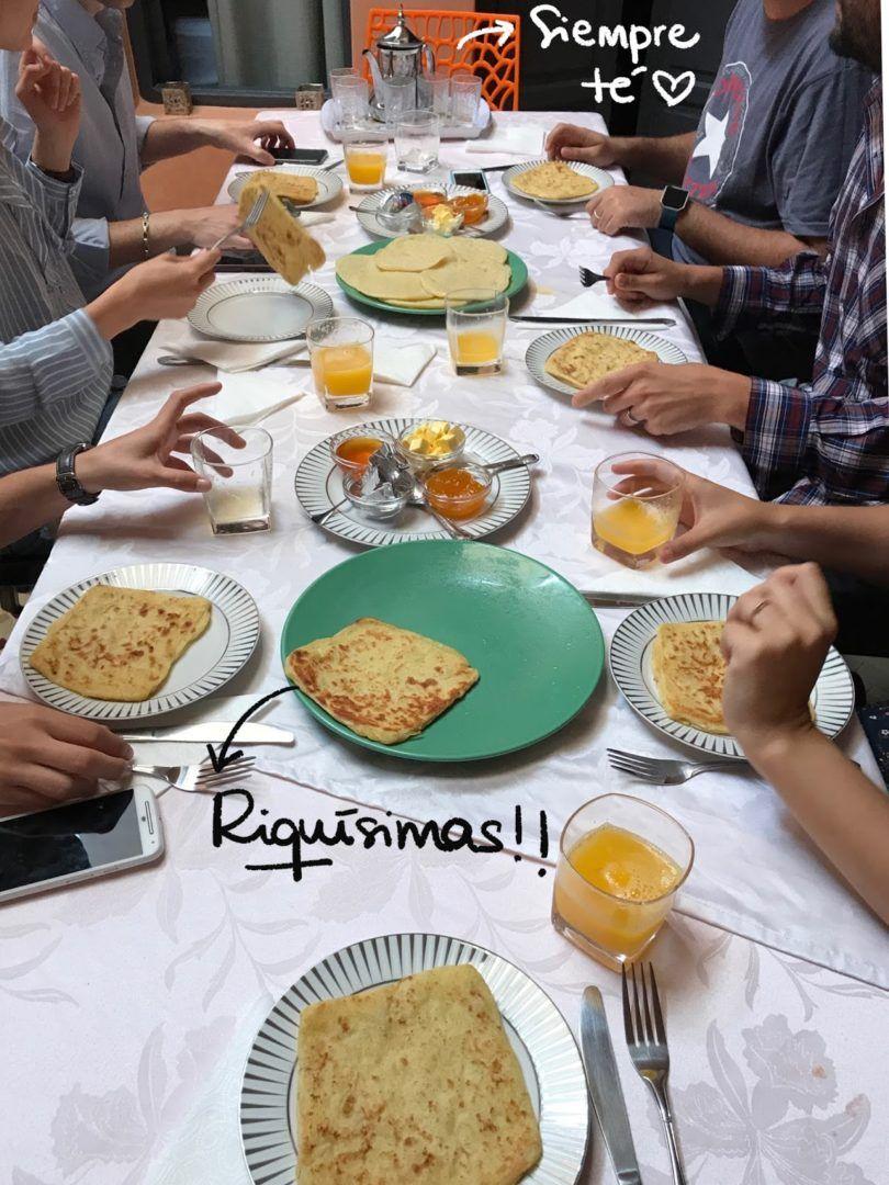 Desayuno en Riad Abjaou