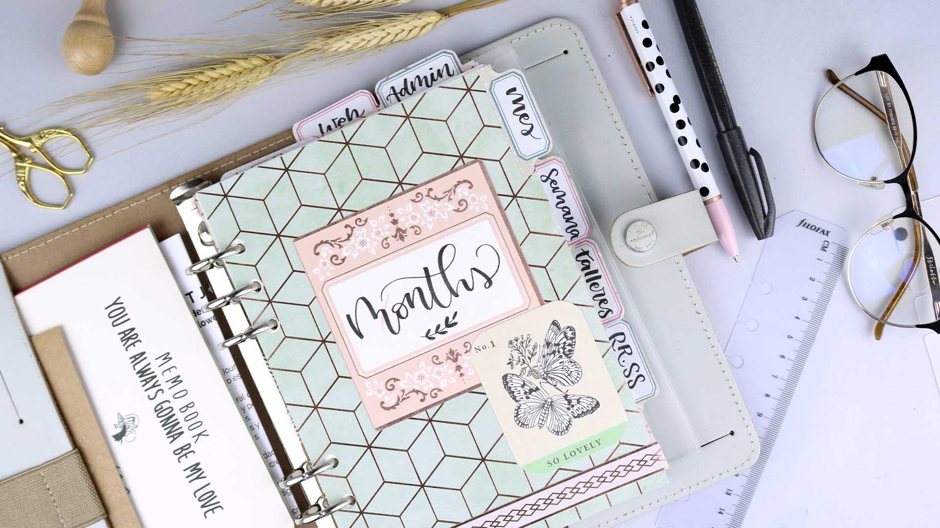 Como estructurar un planner o Bullet Journal para emprendedores